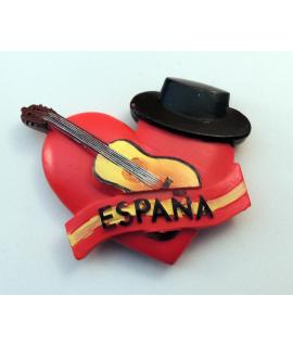 IMAN CORAZON Y GUITARRA ESPAÑOLA