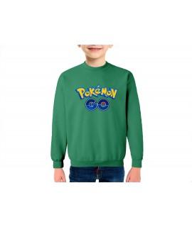 Pokemon go sudadera infantil algodón