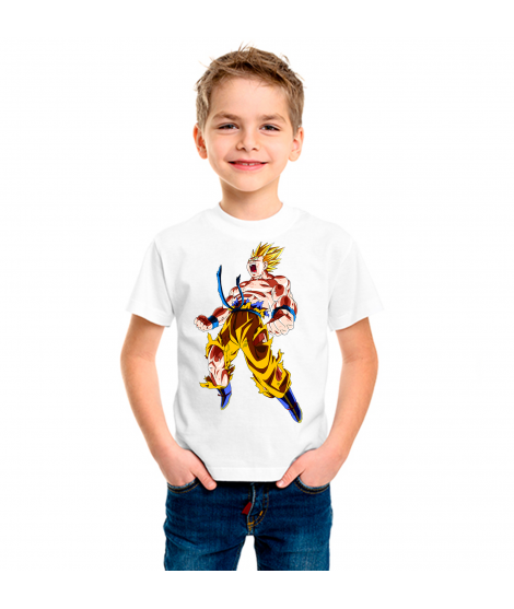 Camiseta Dragón BZ Render  infantil manga corta