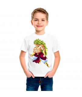Camiseta Dragón BZ Broly infantil manga corta