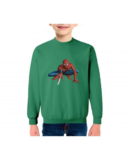Superhéroe Infantil Sudadera Algodón