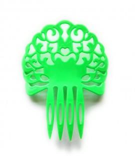 Peineta de Plástico Color Verde