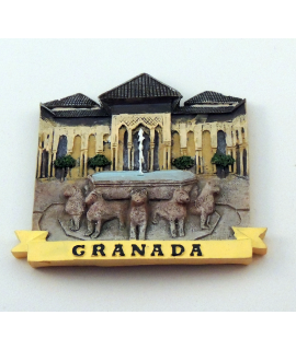 IMAN PATIO DE LOS LEONES DE GRANADA