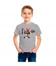Mazinger Z camiseta color gris