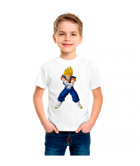 Camiseta Dragón BZ Vegito infantil manga corta