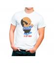 Camiseta Dibujo Chiquito La Calzada Fistro. Consultar medidas en la descripción de la camiseta.