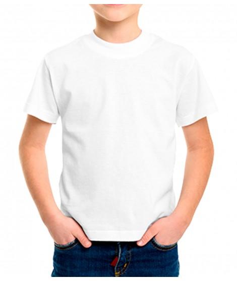 Camiseta Básica De Algodón Tamaño Infantil