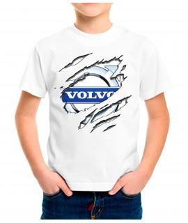 Camiseta Infantil Dibujo Volvo Nube