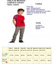 Camiseta Vegeta Dibujo Pelo Azul Talla Infantil