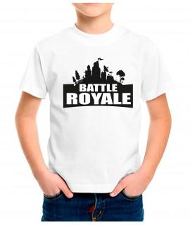 Dibujo Battel Royale Paisaje Urbano Camiseta Infantil