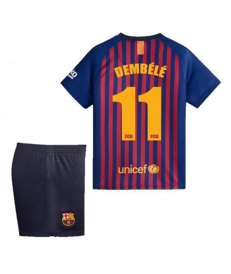 Camiseta Dembele infantil Réplica Oficial Primera Equipación FC Barcelona Temporada 2019-19