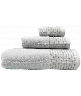 Juego de baño colo gris claro