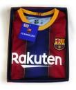 Kit Primera Equipación Infantil Messi del FC Barcelona Producto Oficial Licenciado Temporada 2018-19