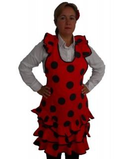 Delantal vestido sevillanas