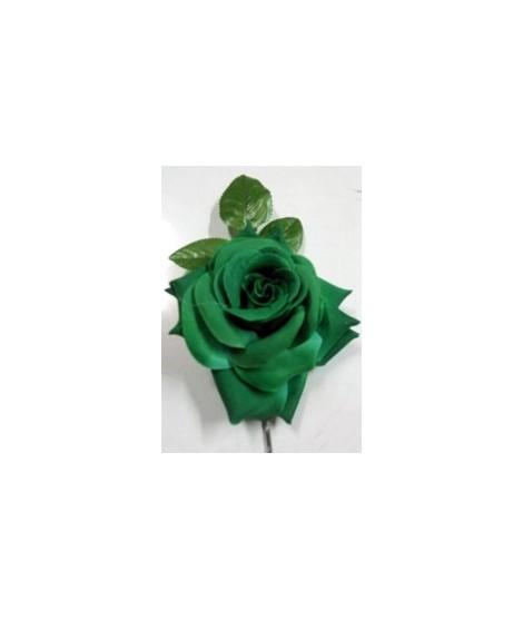 flor Flamenca verde